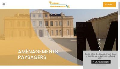 Site internet de Paysages Mediterraneens