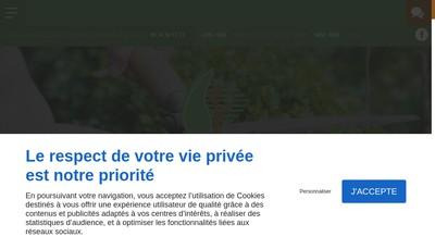 Site internet de Entreprise Pellegrin et Fils