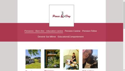 Site internet de Peace & Dog