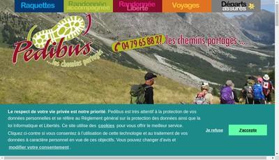 Site internet de Pedibus