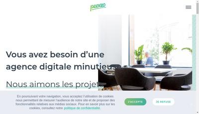 Site internet de Peexeo