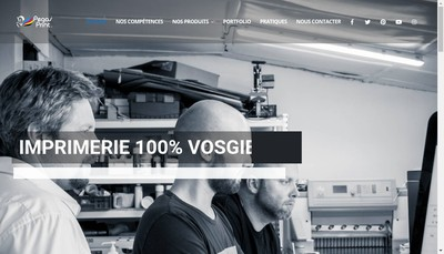 Site internet de Pegas'Print - Cigaro