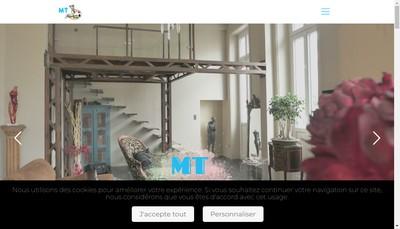 Site internet de Mt Peintures
