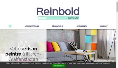 Site internet de Reinbold Peinture