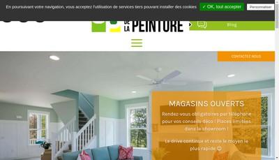 Site internet de Domaine de la Peinture
