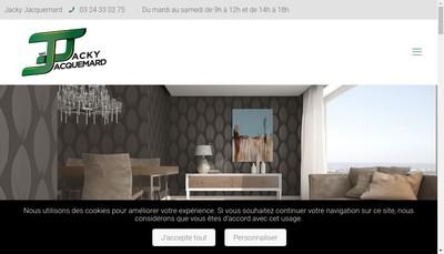 Site internet de Jacquemard Jacky