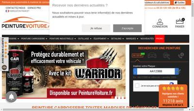 Site internet de Cap Color