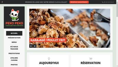 Site internet de Peko Peko