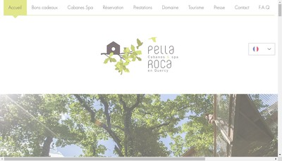 Site internet de Pella Roca