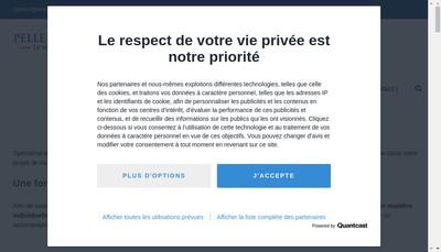 Site internet de Clement Pellerin