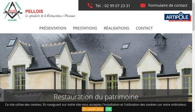 Site internet de SARL Pellois