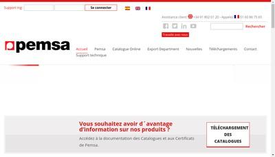 Site internet de Pemsa France EURL
