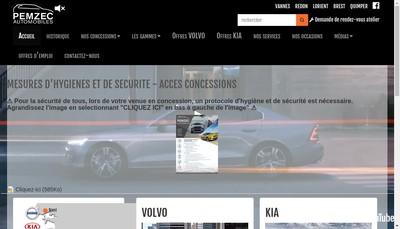 Site internet de Pemzec Automobiles 29