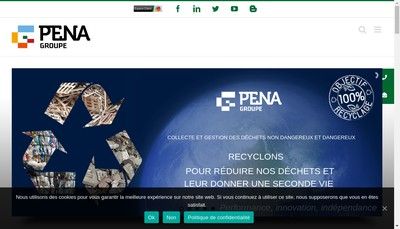 Site internet de Pena Metaux SA