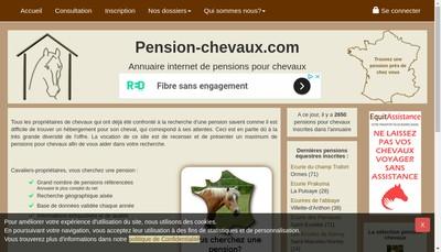 Site internet de Pension de la Licorne
