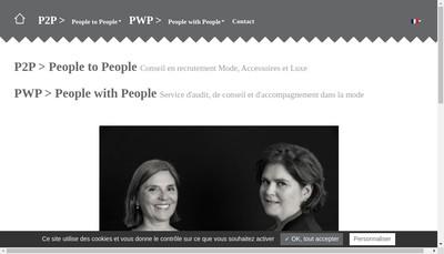 Site internet de People To People