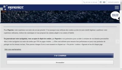 Site internet de Peperiot