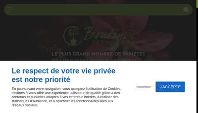 Site internet de Pepinieres Boutin
