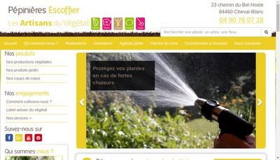Site internet de SARL du Bel Hoste Maison Escoffier