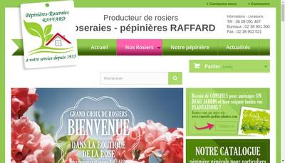 Site internet de Pepinieres-Raffard Com