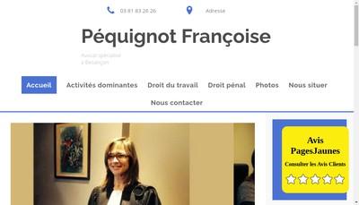 Site internet de SCM Maitres Pernet et Pequignot