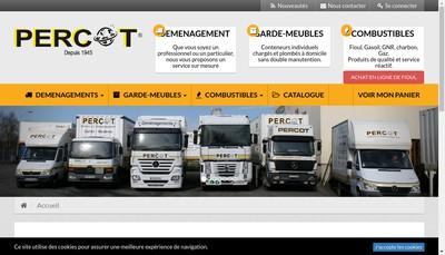 Site internet de Percot