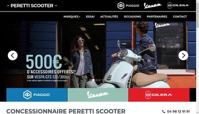 Site internet de SARL Peretti