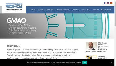 Site internet de Perinfo