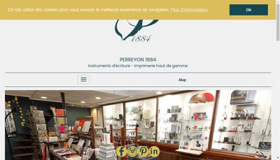 Site internet de Perreyon 1884