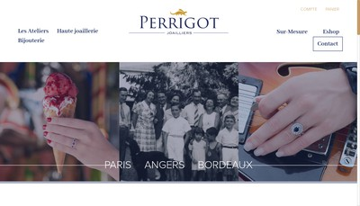 Site internet de Etablissement Perrigot