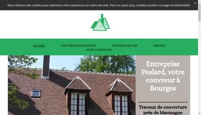 Site internet de Peslard et Compagnie SARL