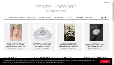 Site internet de Pestel-Debord