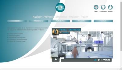Site internet de Petel Services