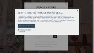 Site internet de Sybille Accessoires