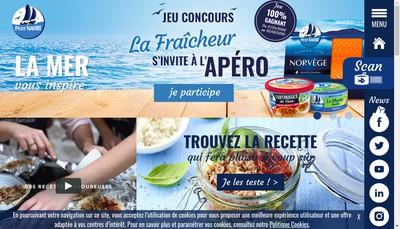 Site internet de Petit Navire