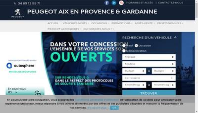 Site internet de Abcis By Autosphere