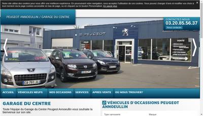 Site internet de Garage du Centre