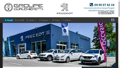 Site internet de Gualchierotti Automobiles