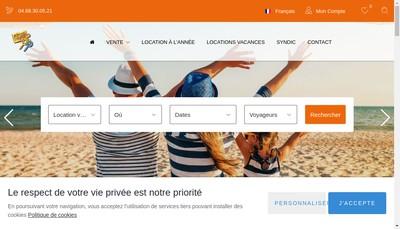 Site internet de Agence Peyrot