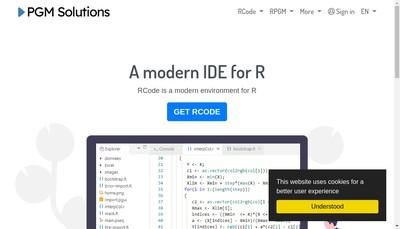 Site internet de Pgm Solutions