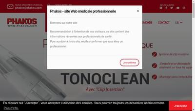 Site internet de Phakos