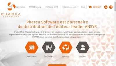 Site internet de Pharea Software