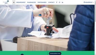 Site internet de Pharm-Upp