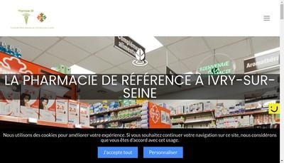 Site internet de EURL Pharmacie 55