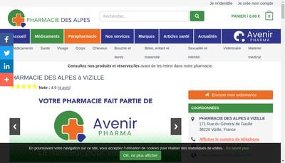 Site internet de SELARL des Alpes