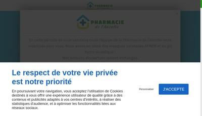 Site internet de Pharmacie de l'Ancolie