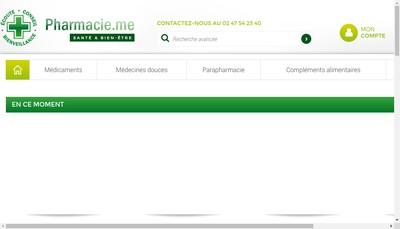 Site internet de Pharmacie Maginot