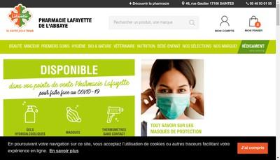 Site internet de Pharmacie de l'Abbaye