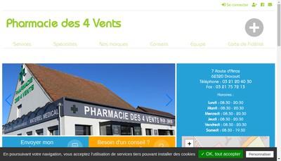 Site internet de Pharma Jb