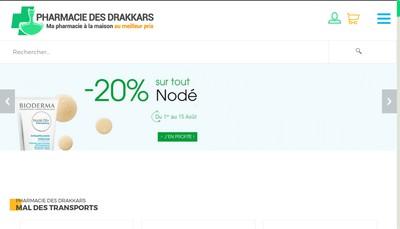 Site internet de Pharmacie des Drakkars